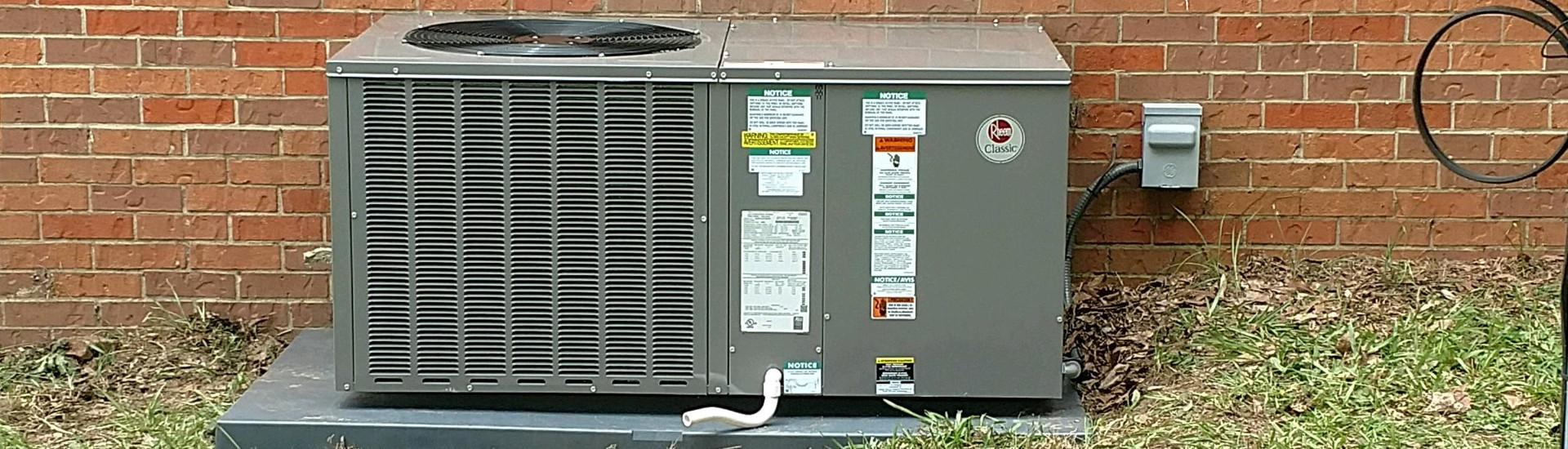 Installed AC Unit